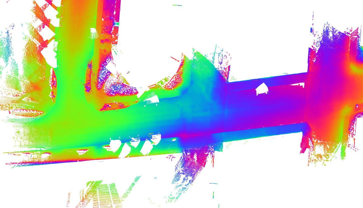 Relief en imagerie 2D HD LiDAR