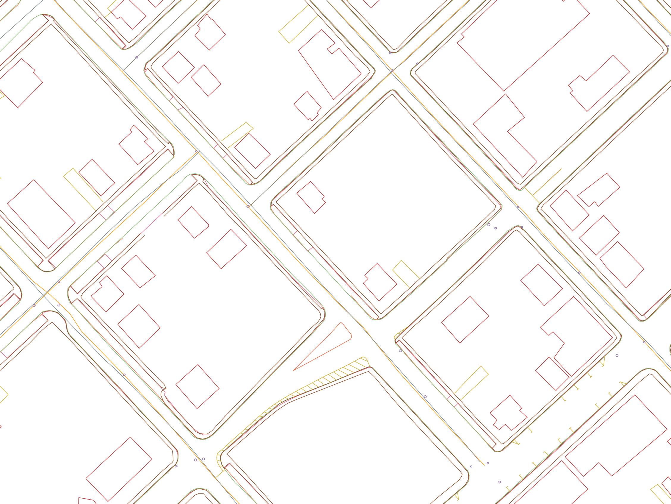 Données cartographiques en 2D