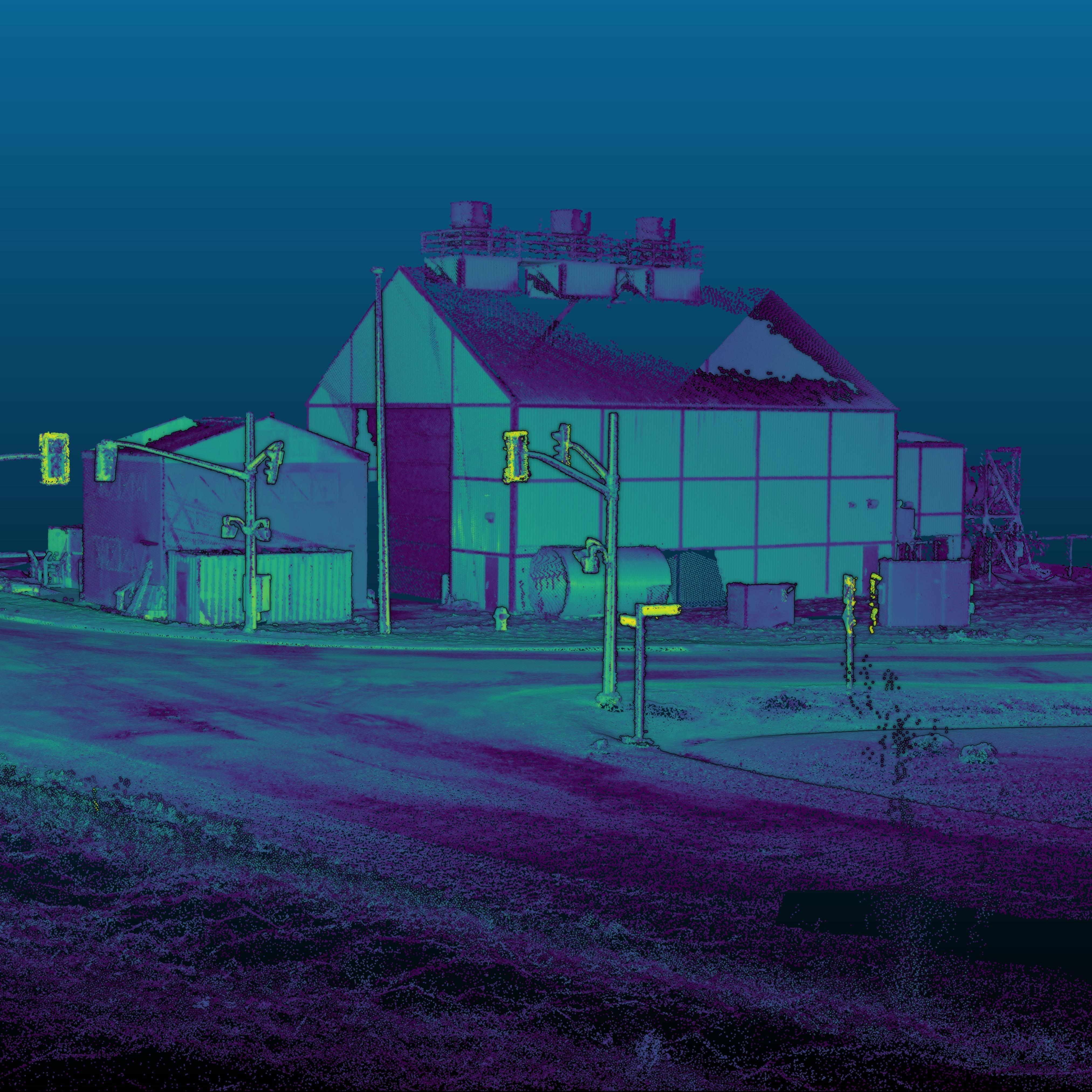 3D geospatial data